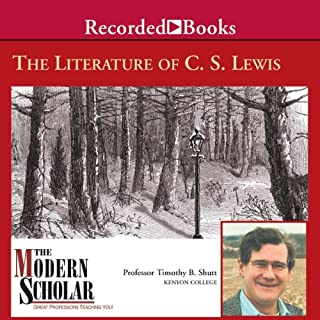 The Modern Scholar     Literature of C. S. Lewis              By:                                                                                                                                 Timothy Shutt                               Narrated by:                                                                                                                                 Timothy Shutt                      Length: 7 hrs and 53 mins     47 ratings     Overall 4.2