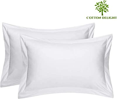 WAMSUTTA Double Flange NEW in Pack Ivory Standard Pillow Sham 100/% Cotton 20x26