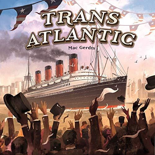 Rio Grande Games RGG551 Transatlantic, Mehrfarbig