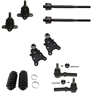 12pcs Front Suspension Tie Rod End Ball Joint for 04-06 CHEVROLET COLORADO
