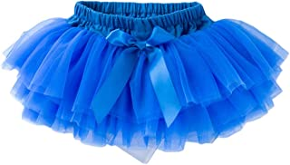 JoJoHouse Girls Tutu Layered Casual Tulle Skirts w/Bowknot Toddler Grils Dance Skirt KPT11