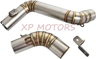 For KTM 125Duke(11-15) For KTM 200Duke(11-15) For KTM 390 Duke(13-16) Stainless Steel Slip On Exhaust Header Down Pipe & Exhaust Mid Pipe