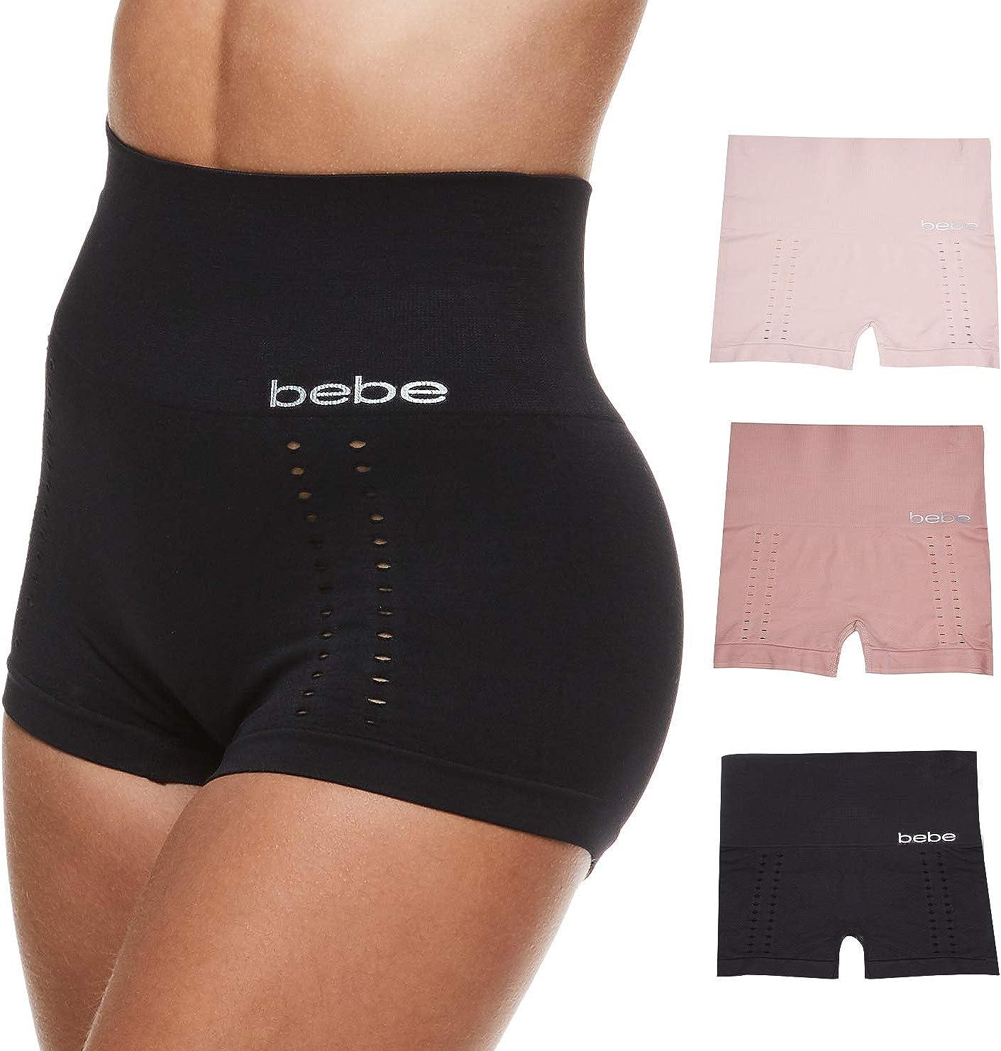 bebe Womens Plus Tag Free Tummy Control
