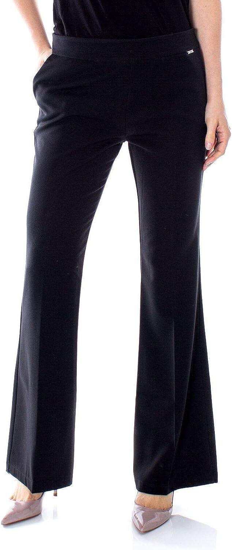 Akè Women's F646YAIP5781BLACK Black Polyester Pants