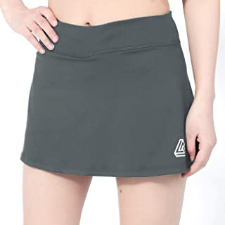 DOMICARE Women High Waist Pleated Tennis Golf Skorts with Pockets, Active Athletic Lightweight Skirts for Running Workout