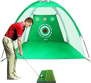 golf swing practice net