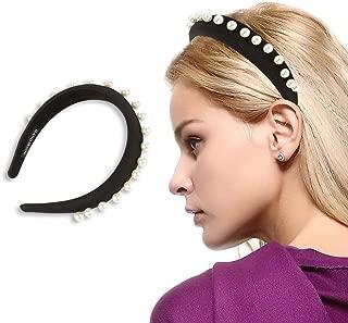 Padded Headbands Women Velvet 90s Hair Accessories Headwear The Twins Dream
