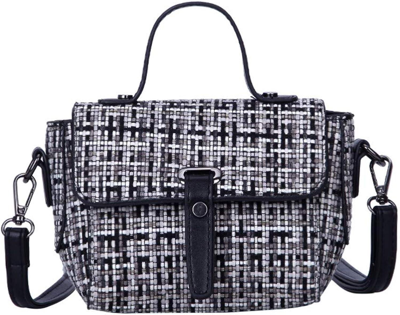 ZLULU Damen-Schultertaschen Damenhandtaschen Geprägter Querschnitt Quadratische Quadratische Quadratische Wilde Kette Mit Einseitiger Schulter, Wilde Frauentasche B07KNZBRJV  Zuverlässige Qualität 66e30d