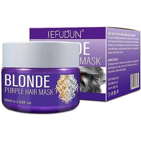 El Tinte Para El Cabello Xnuoyo Purple Hair Mask Es Adecuado ...