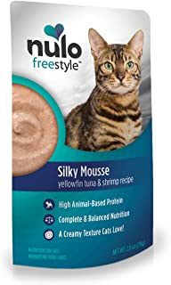 Nulo FreeStyle Cat Food Mousse, Pack of 24 Pouches - Nutritious, Delicious Wet Cat Food with Silky Texture - High Protein ...