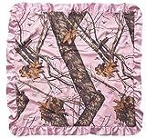 Carstens Mossy Oak Break Up Baby Blanket, Pink
