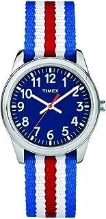 Timex Boys' TW7C09900 Year-Round Analog Quartz Blue Watch