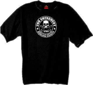 Hot Leathers 2nd Amendment 100% Cotton Double Sided Printed Biker T-Shirt