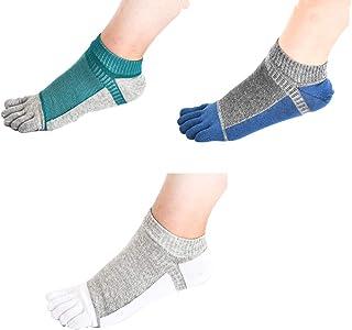 Hombres Deportes Cinco Calcetines del Dedo del pie 3 Pares,Cinco Calcetines de los Dedos,Calcetines de Deporte,Calcetines Cinco Dedos Hombre