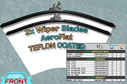 [S981/28/26] DoradoTuning Escobillas de limpiaparabrisas Aero Style/Kit -