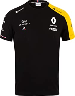 2019 Official Mens T-Shirt Black Tee Formula One Merchandise