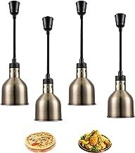 Aprilhp Lampe Chauffante pour Aliments, Lampe Chauffe-Plats, 75-165cm Lampe Chauffante Rétractable pour Buffets Pizza et S...