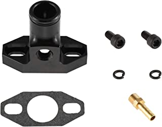UAUS Adjustable 32mm to 40mm Air Intake Manifold With Connector for 49cc 60cc 66cc 80cc Motorized Bicycle Bike Gas Bicycle Motor Engine Kit High Performance Black