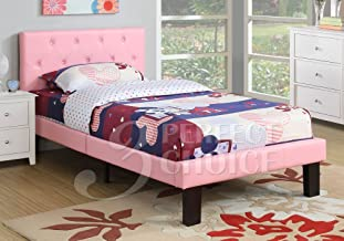 Best upholstered twin bed pink Reviews