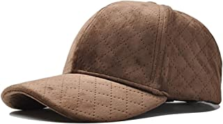 Hat Fashion Women's Hat Winter Spring and Autumn Tide Korean Version of The Wild Fashion Baseball Cap Fashion Accessories (Color : Brown, Size : 56-60CM)