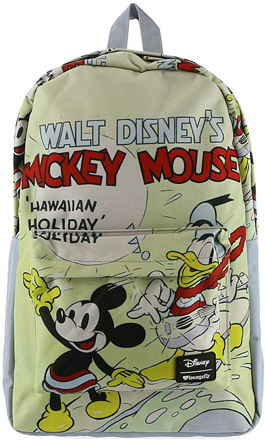 Loungefly Disney Mickey Hawaiian Holiday Nylon Backpack