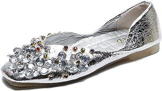08bec8b047 Amazon.it: strass - Argento / Sneaker / Scarpe da donna: Scarpe e borse