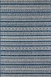 NOVOGRATZ BY MOMENI Villa Collection Tuscany Indoor/Outdoor Area Rug, 6'7' x 9'6', Blue'