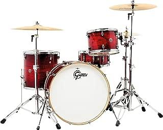 Gretsch Drums Catalina Club Rock 3 Pieces Shell Pack - Gloss Crimson Burst