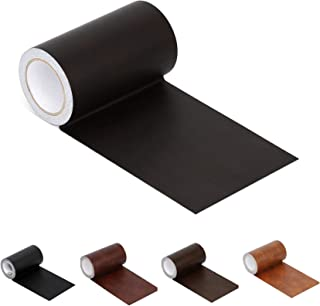 """Best Leather Repair Tape Patch Leather Adhesive for Sofas, Car Seats, Handbags, Jackets,First Aid Patch 2.4""""X15"""