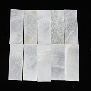 10 Pieces Premium Mother Of Pearl/Mop Inlay Blanks Shell 1mm