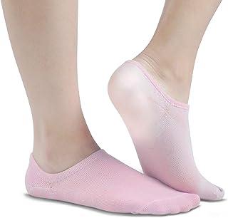 Soft Gel Heel Ankle Moisturizing Socks 1 Pair Ventilate Stealth No Show Socks For Women Men