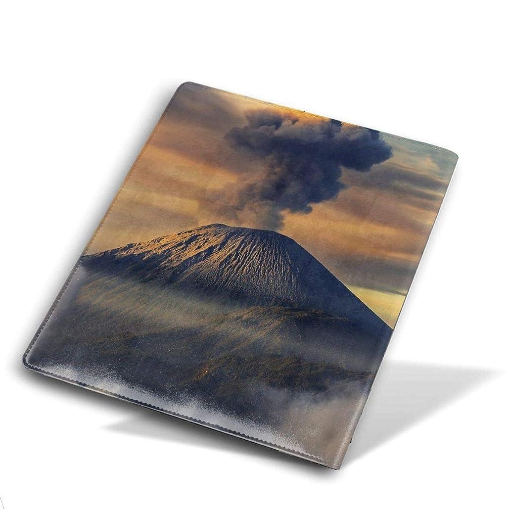 関係呼吸精巧なブックカバー 文庫 文庫カバー レザー やわらかいインテリアと手入れが簡単 読者 学生 役員用 Size 28*51 Cm 活火山