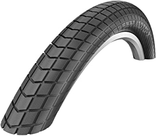 Schwalbe, Super Moto-X, Tire, 20''x2.40, Wire, Clincher, Dual, GreenGuard, Snakeskin, 67TPI, Black
