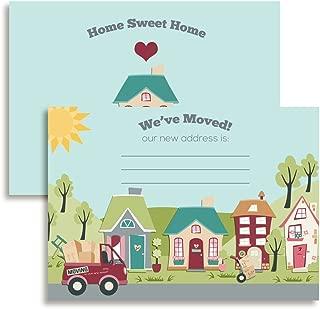 We've Moved, Change of Address Cards, 20 5