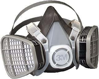 3M Half Facepiece Disposable Respirator Assembly 5301/21577, Organic Vapor Respiratory Protection, Large (Pack of 1)