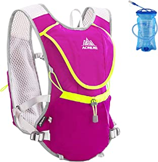 Azarxis 8L Hydration Vest Backpack, Trail Running Pack with 1.5L BPA Free Bladder - Ultra Lightweight for Marathon Race, Running, Hiking, Cycling, Climbing