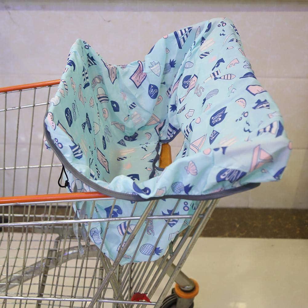 Aeloa Seat Cover Dining Chair Seat Cushion Portable Soft Shopping Cart Chair for Children