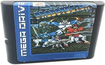 Royal Retro Probotector pour console de jeux vidéo Sega Genesis et Mega Drive 16 bits (noir)