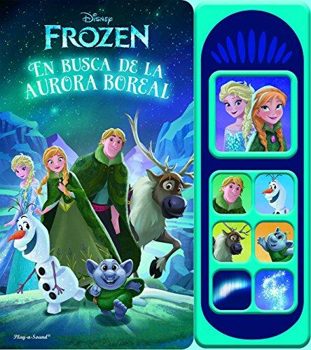 Libro musical 7 botones. Frozen luces mágicas: EN BUSCA DE LA AURORA BOREAL (LSD)