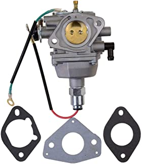 GOOFIT Carburatore 27.5 con Guarnizioni Replacement per Briggs /& Stratton Quantum Motore 498965 693480 499306 495181 495026 Argento