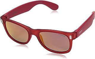 Polaroid Sunglasses Boys' P0115s Polarized Rectangular...