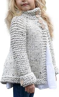 K-youth® Abrigos Bebe Niña Prendas de Punto Cárdigan Invierno Suéter Chaqueta de la Rebeca