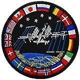 topt rasta ecusson NASA Astronaute Navette Spatiale USA ISS Discovery Station fusée Etoil...