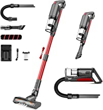 Cordless Vacuum Cleaner,whall 22000pa 5 in 1 Cordless Stick Vacuum Cleaner,250W Brushless Motor,up to 53 Mins Runtime,Ligh...