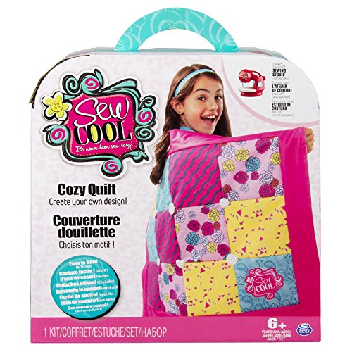 Spin Master 6026016 - Sew Cool - Cozy Quilt - Patchworkdecke