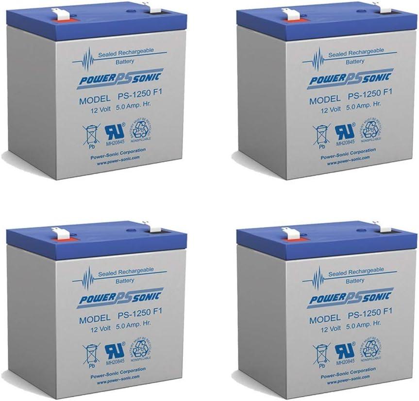Power Sonic Popular shop is the lowest 5 ☆ popular price challenge 12V 5AH SLA Battery BatteryGuy Replaces BG-1250-pr90