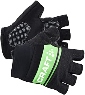 Craft Sportswear Men`s Classic Fingerless Bike Cycling Training Gloves with Gel Inserts: protective/riding/cooling