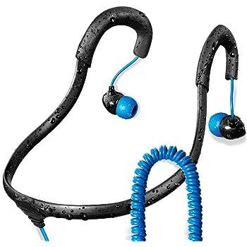 X-1 (Powered by H2O Audio) IEN2-BK-X Surge Sportwrap Waterproof In-Ear Headph.