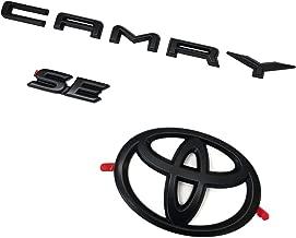Genuine Toyota Camry SE Blackout Black Emblem Overlays PT948-03191-02