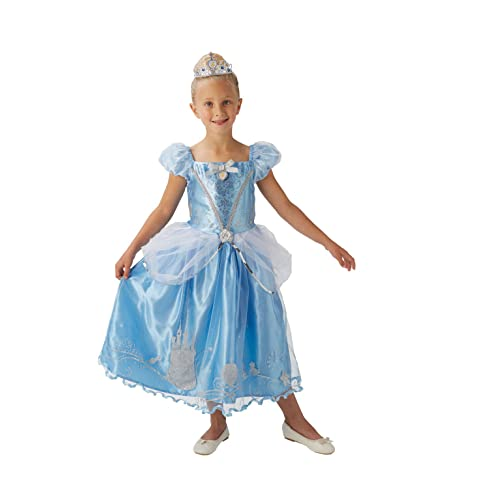 bbefda852aded Rubie's Official Disney Princess Cinderella Childs Deluxe Costume, Small  3-4 Years